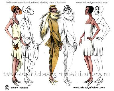 1920s Fashion Articles Fashion Articles 1920 on
